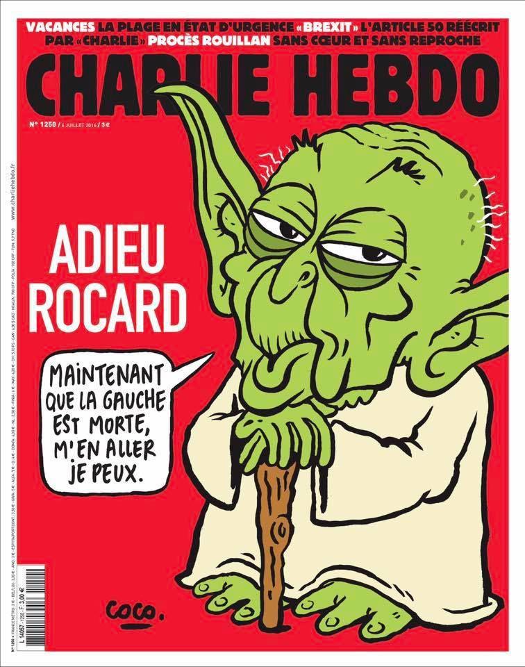 A la une de Charlie Hebdo n°1250