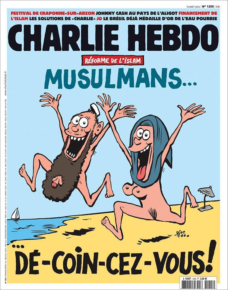A la une de Charlie Hebdo n°1255