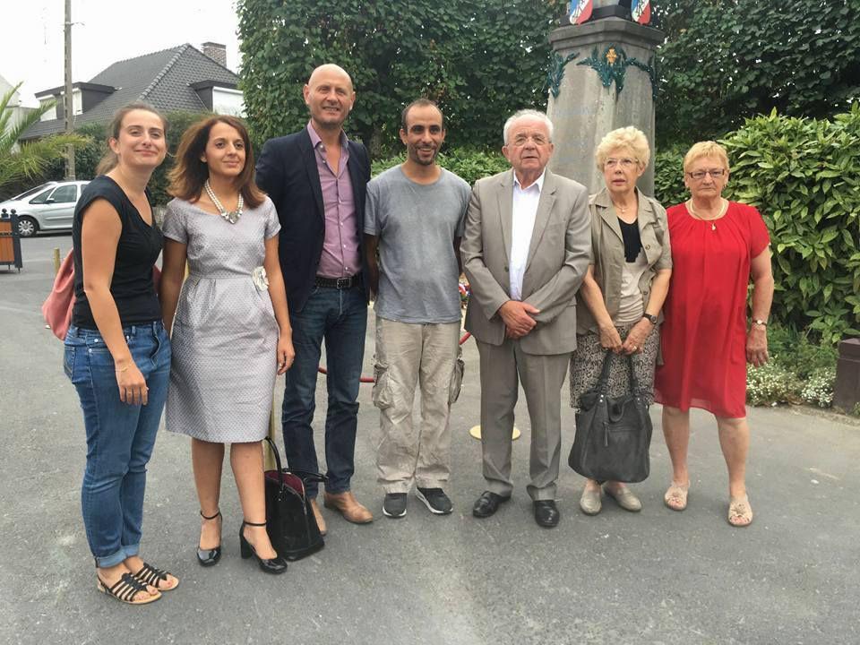 Commémorations de la libération de la ville : le groupe Agissons Unis pour Hénin-Beaumont sur le terrain