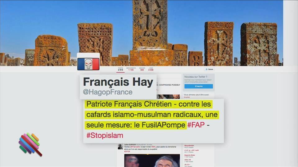 L'émission Quotidien a enquêté sur les amis twitter racistes de Marine Le Pen