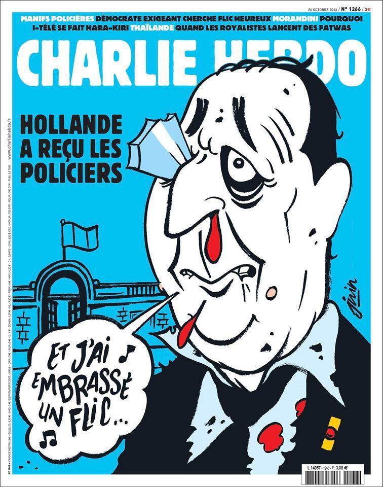 A la une de Charlie Hebdo n°1266