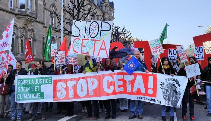 Le parlement Européen adopte le CETA : « Amplifions la mobilisation pour faire échec à sa ratification nationale »