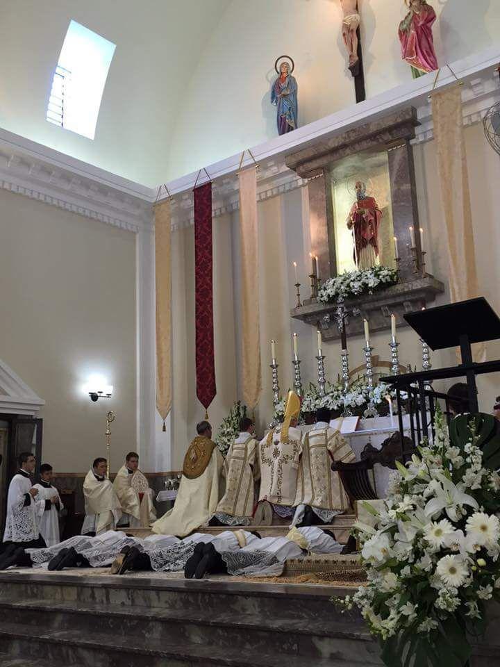 Trois nouveaux prêtres pour l'IBP !