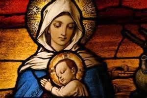 Marie et ses anges veillent ...