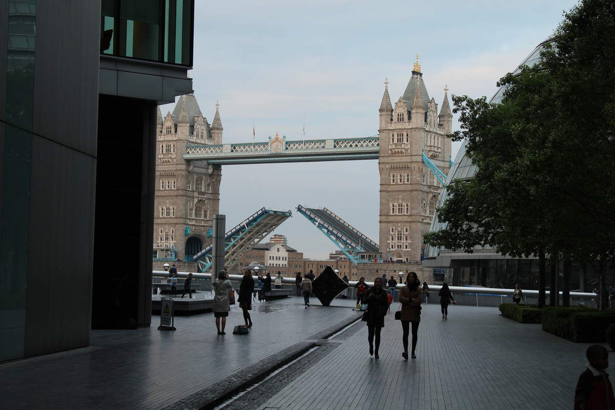 Le Tower Bridge ouvert