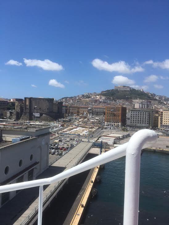 Le 8 mai dernier nous arrivions à Naples !