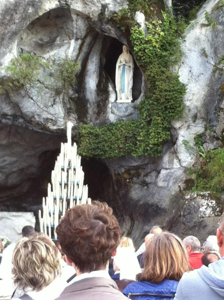 From Lourdes with love ........