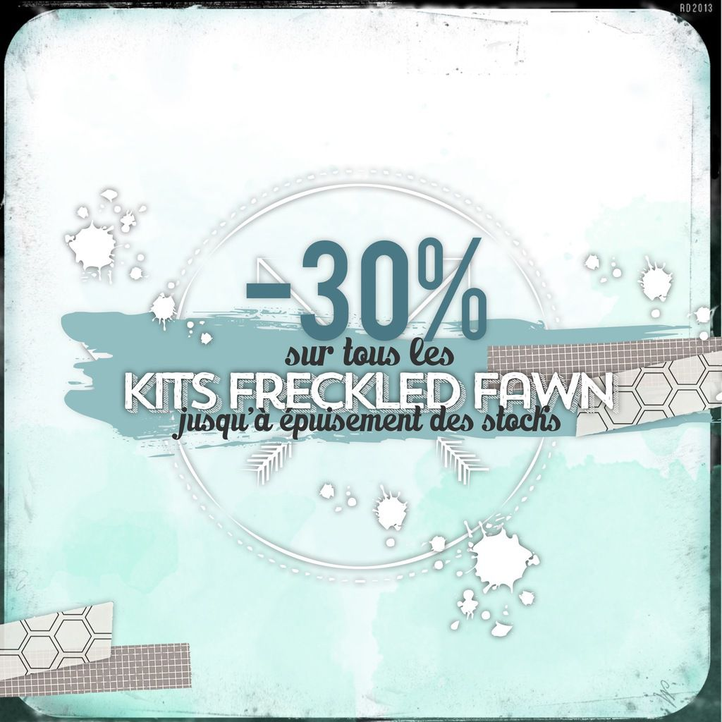 Les kits Freckled Fawn