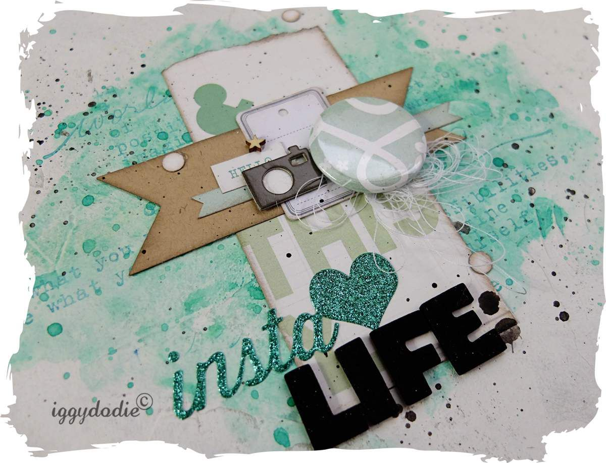 Un mini album avec un kit Project Life
