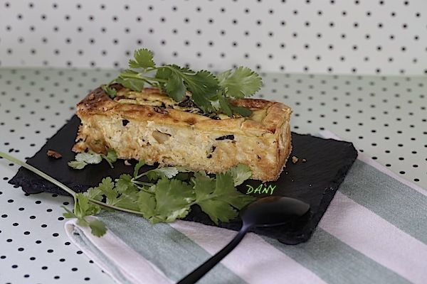 CHEESE CAKE HERBES ET COURGETTE