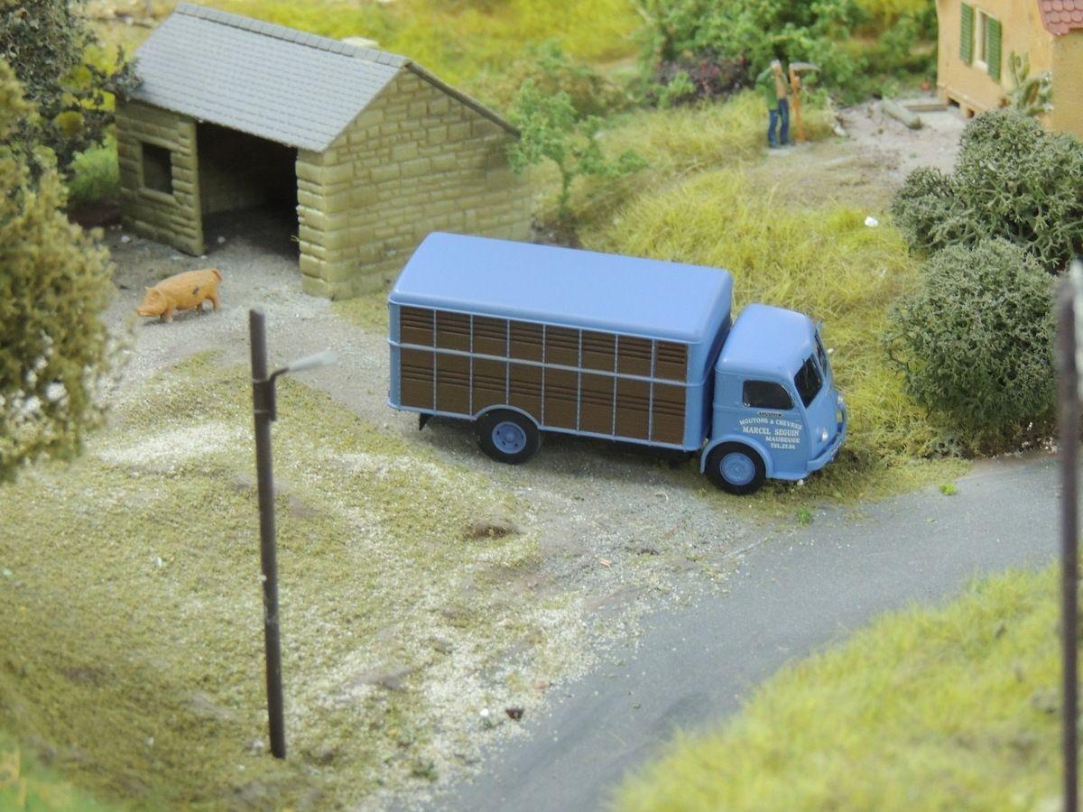 Belle brochette de camions PANHARD de chez REE SUR LE R2SEAU DU CLUB