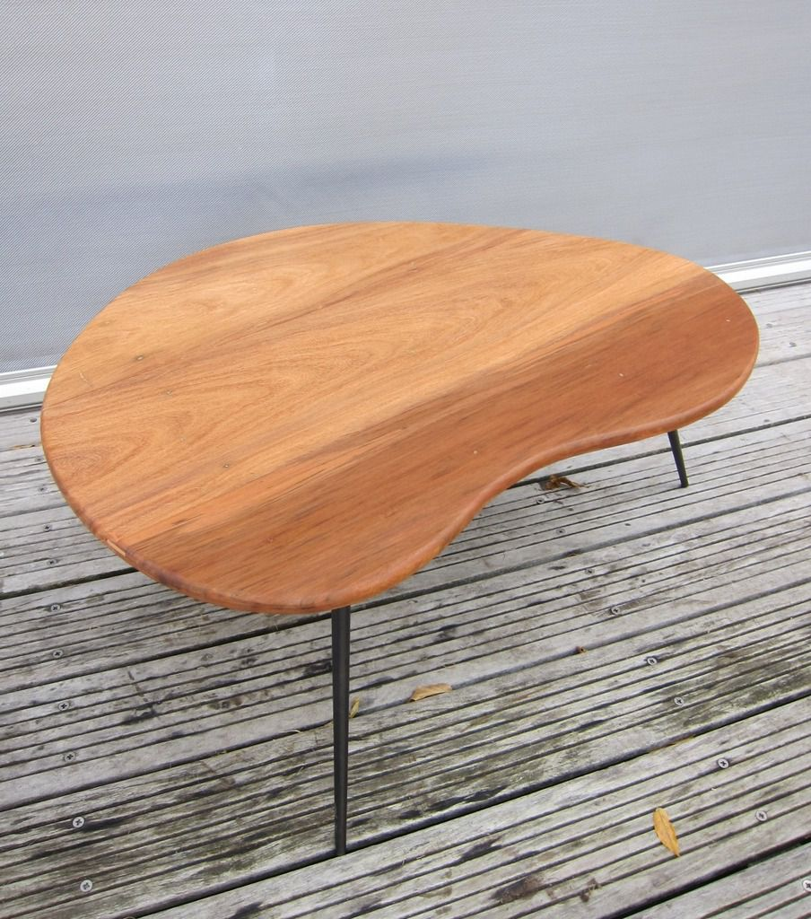 TABLE BASSE HARICOT DESIGN 1950