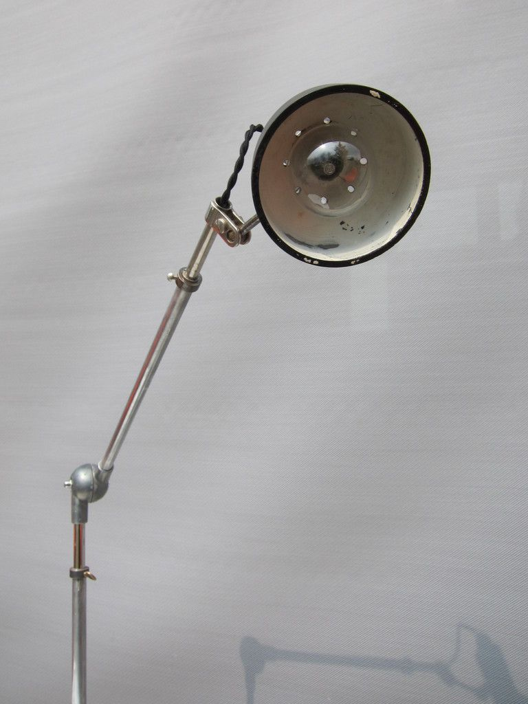 FRENCH VINTAGE WORKSHOP LAMP FOR SEWING MACHINE