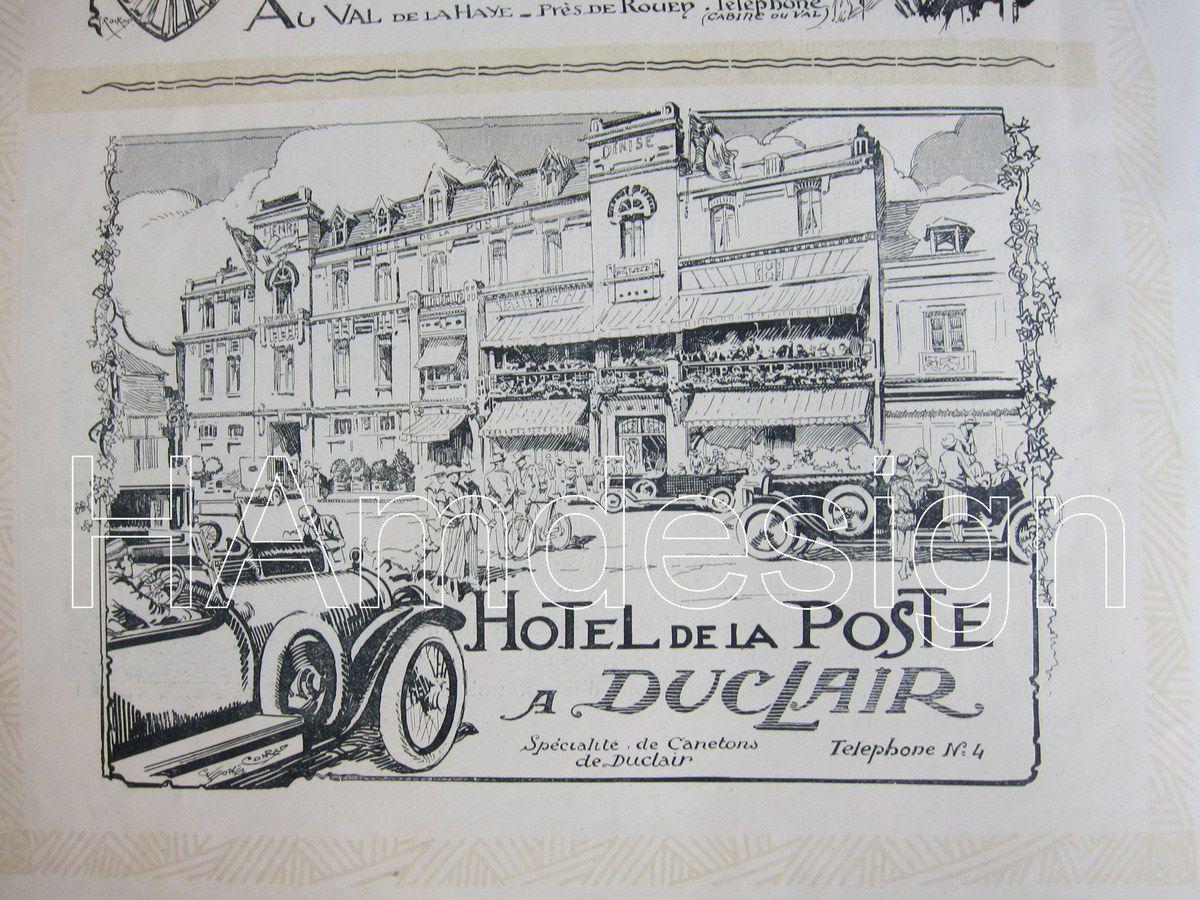 BROCHURE ROUEN - VILLE MUSEE 1923 - 40 euros