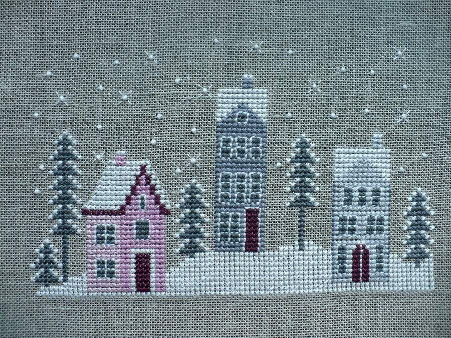 Noël de Maryse : le village