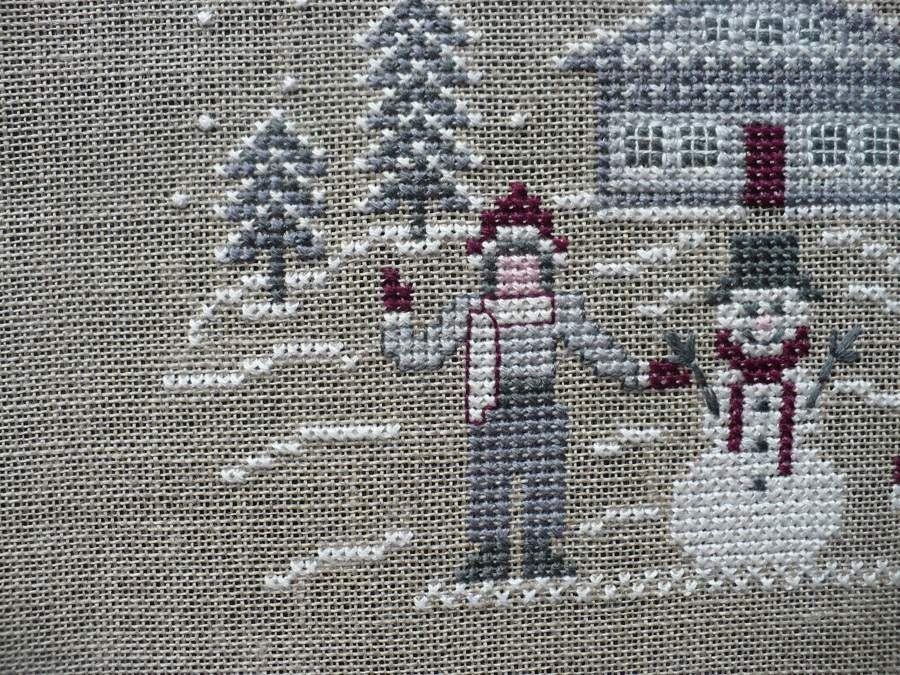 SAL Noël 2015 chez Maryse : chalet aux enfants