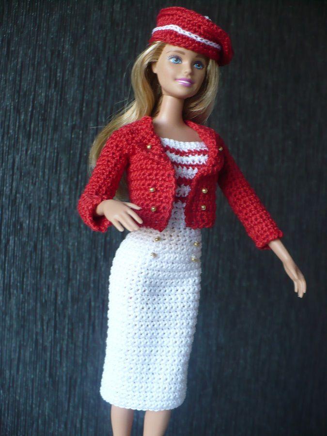 Tenue marin pour Barbie