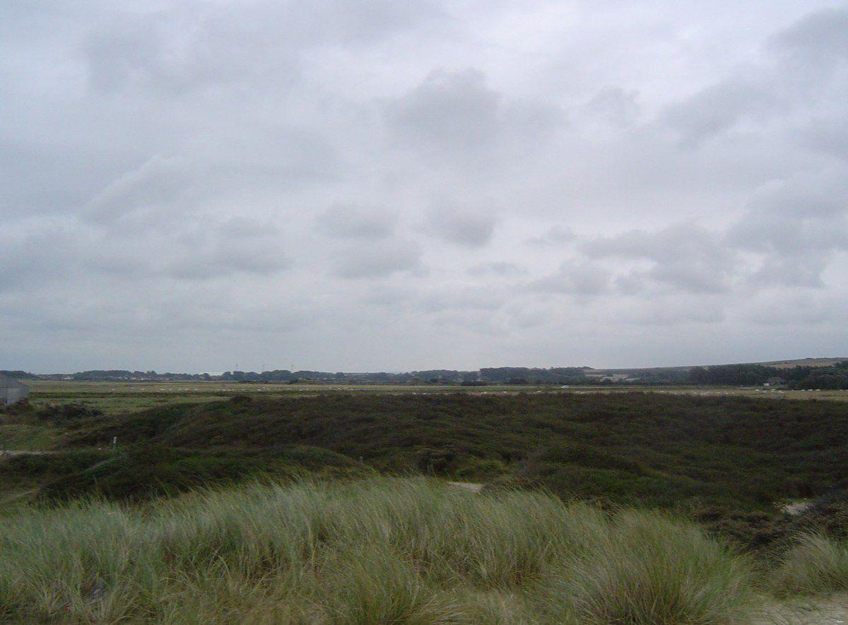 Plage et dune de Sangatte, Vue sur l'arrière-pays, Cl. Elisabeth Poulain