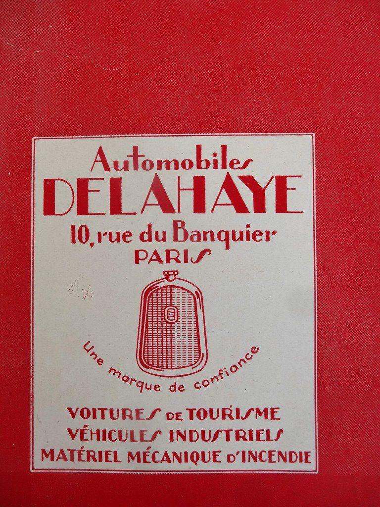 Publicité Delahaye automobile, Vie à la Campagne, n° 288, 1 juin 1927, Cl.3-3 Elisabeth Poulain