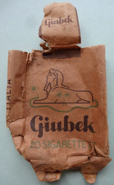 Cigarettes it. Giubek, Cl.1/3 Elisabeth Poulain