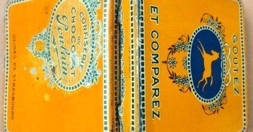 * Boitier de Confiserie du Chocolat Poulain-Cl. Elisabeth Poulain