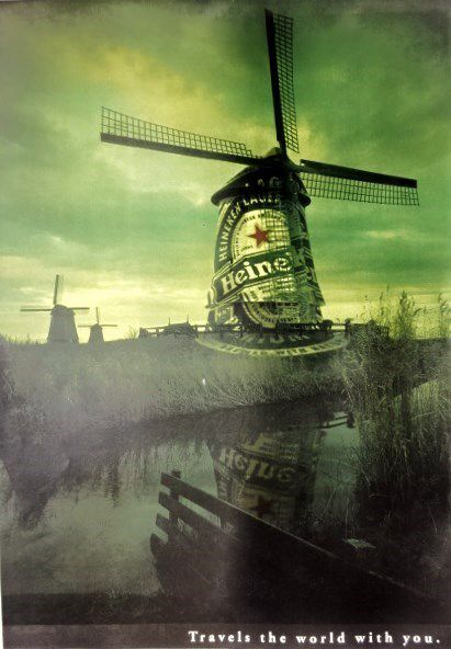 Pub Heineken-Le Moulin-Travels the world with-you- Cl. Elisabeth Poulain