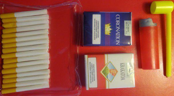 Sachet intérieur, Supporter, paquets de cigarettes confiserie fantaisie, Cl. Elisabeth Poulain