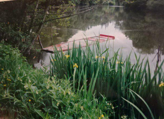 Plate rouge, Ecouflant, Eaux Mayenne + Vieille Maine, Cl. Elisabeth Poulain