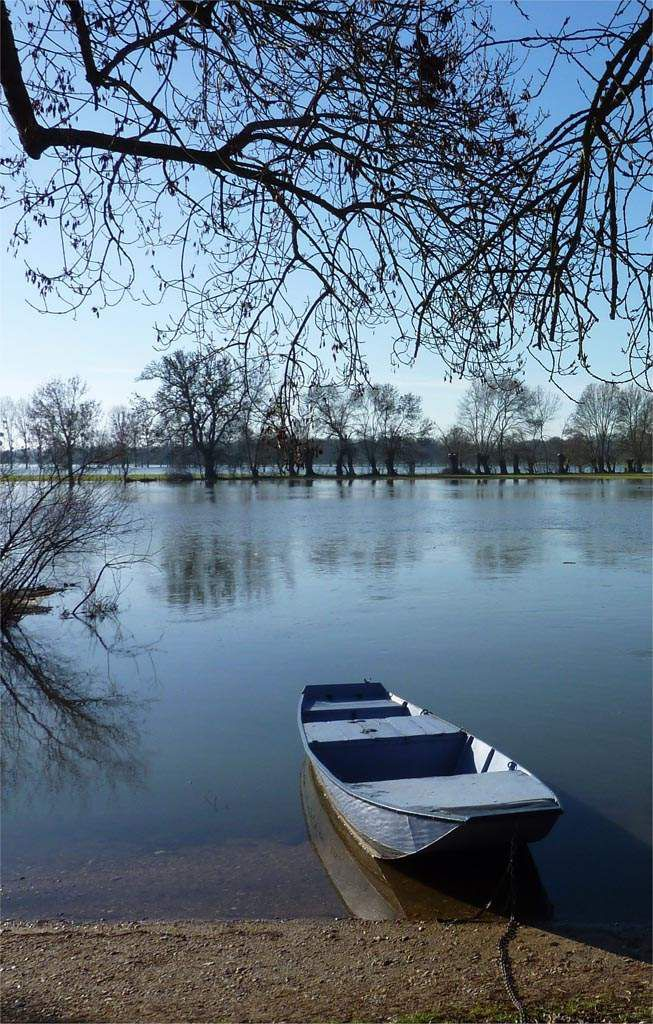 * Ecouflant, plate bleue, plaquette, Angers Loire Tourisme