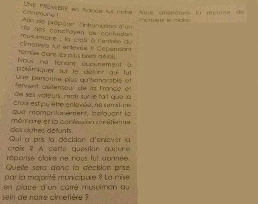 Demande de soutient à DJENANE Nadia Fille de harki (3) la suite
