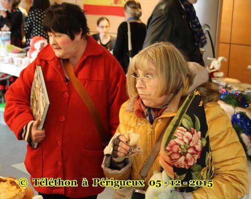 L'association Harkis Dordogne au Téléthon à Périgueux 05-12-2015