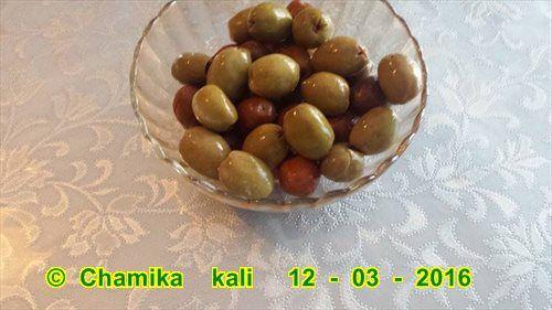 """"""" le plat du mois d'Aïcha """"Poulet aux olives"""
