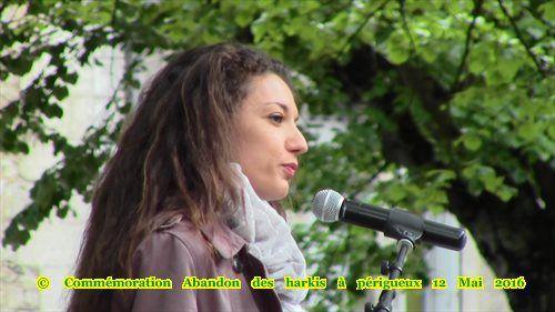 Vidéos- Photos - Commémoration Abandon des harkis à périgueux Dordogne (24)