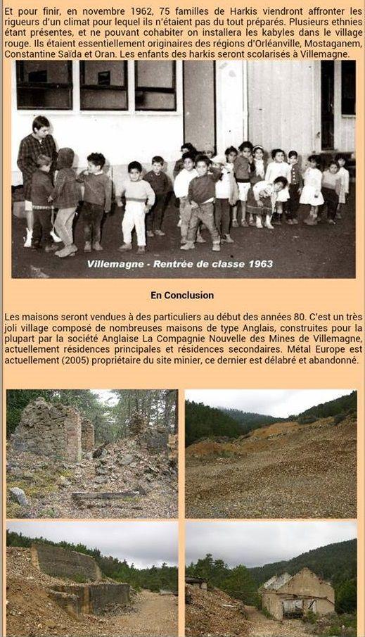 Villemagne dans le Gard va être inaugurée le jeudi 7 juillet prochain une stèle en hommage aux 75 familles de harkis