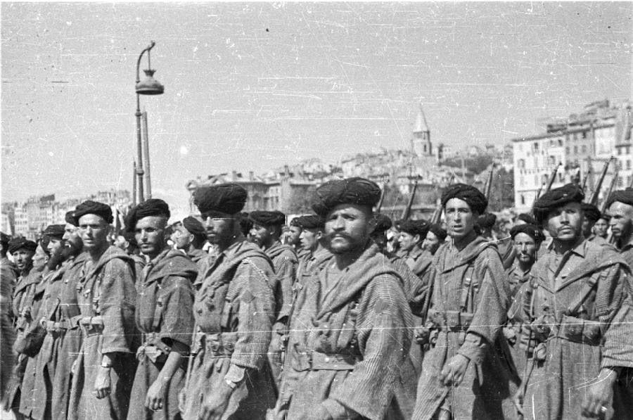 Hommage aux soldats indigènes qui libérèrent la Provence et Marseille il y a 72 ans, de Chérif Lounès