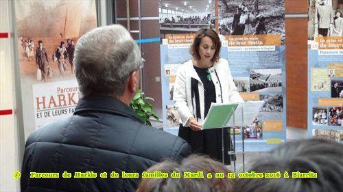 """""""Eugénie de Montijo accueille les harkis à Biarritz (64), station balnéaire mondialement connue"""""""
