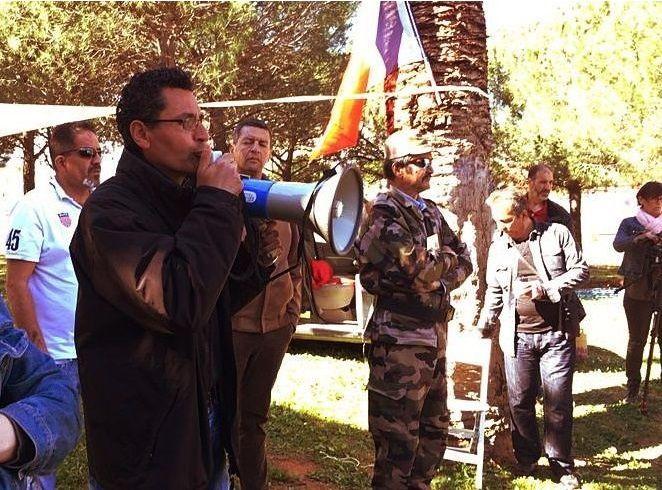 Manifestation de la communauté harkis à Montpellier La communauté Harkis se mobilise à Montpellier avant la présidentielle