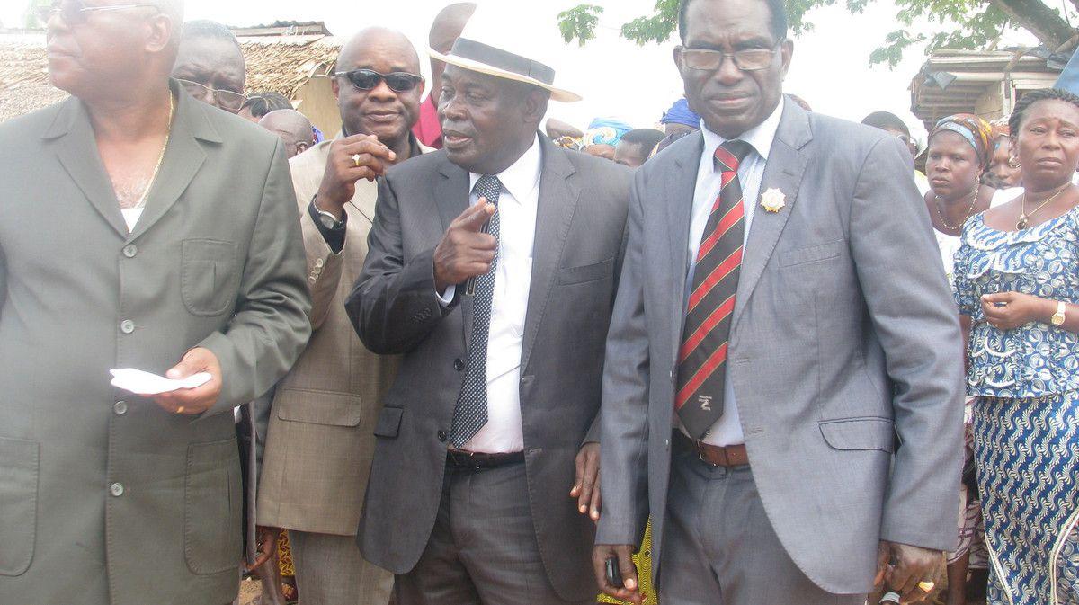 Visite du Chef de l'Etat dans la Région de la Mé : Yapo Chistophe et les cadres sur la sellette