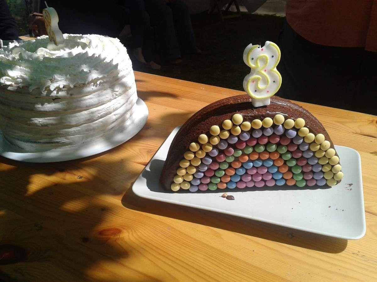 L'anniversaire météo : les gâteaux