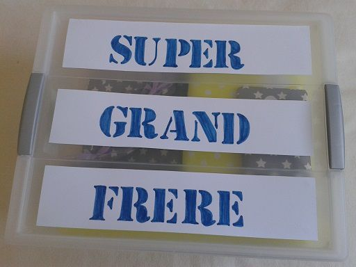 La box de super grand frère