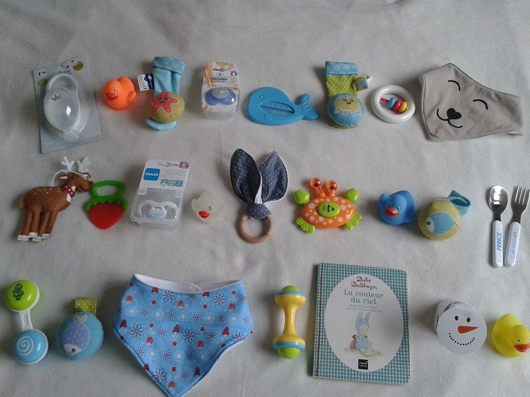 Calendrier de l'Avent : idées petits cadeaux pour nourrisson