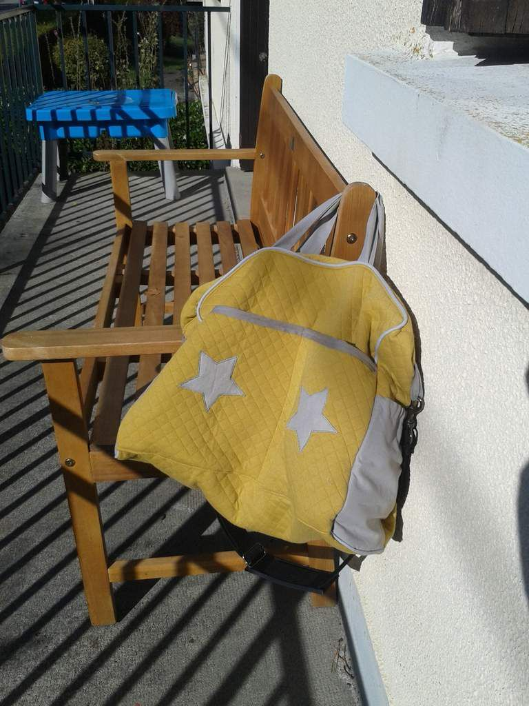 Le sac à langer de Potimarron