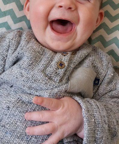 Mon bébé sourire