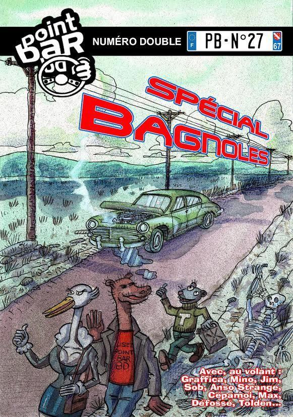 Point Bar BD n°27, spécial Bagnoles