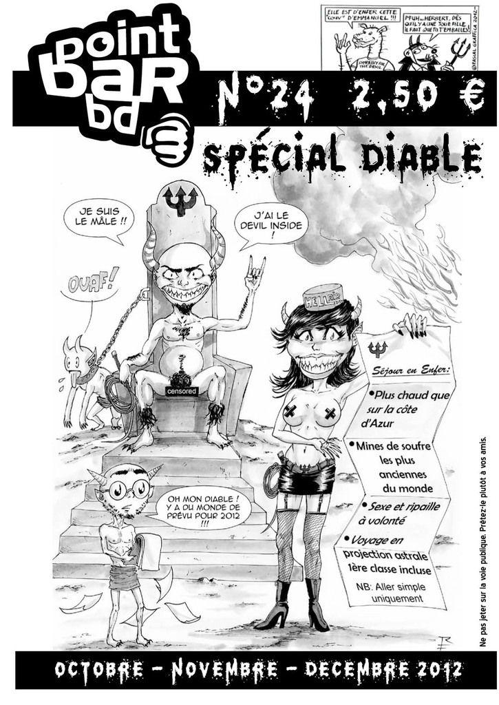 Couverture du Point Bar BD n°24, spécial Diable