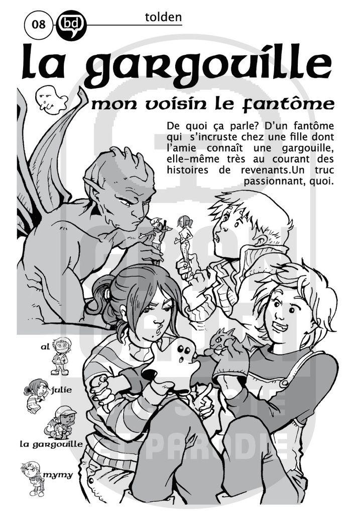 La Gargouille, réalisée par Tolden. BD publiée dans le fanzine Gran Gaudi.