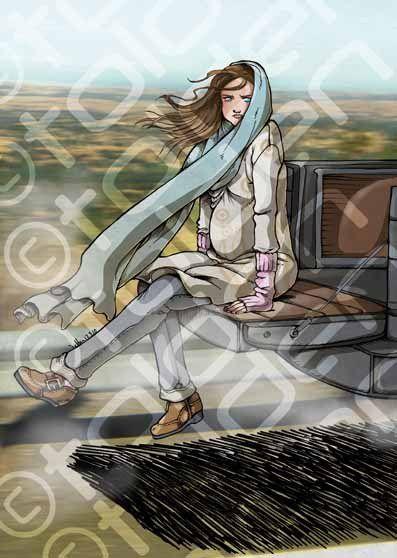 Illustration par Tolden, couleurs par Saki.