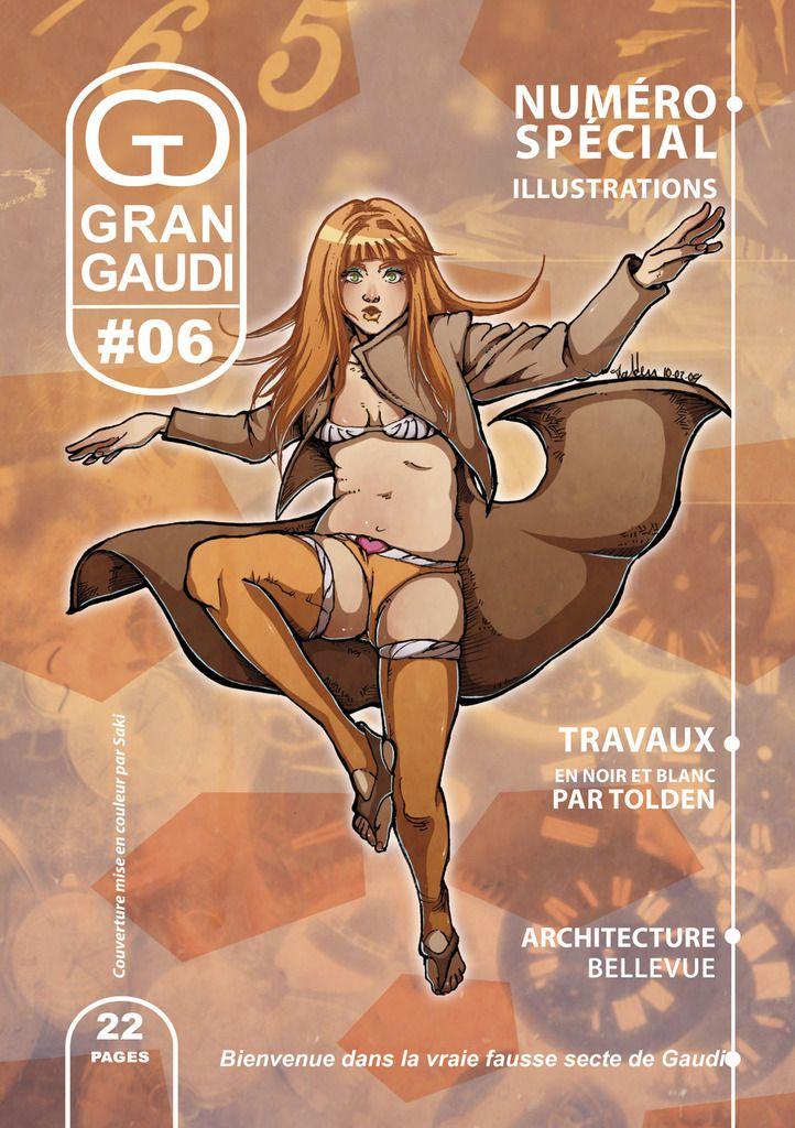 Gran Gaudi #06, fanzine BD, humour et parodie.