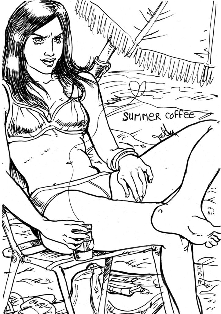 Summer Coffee par Tolden