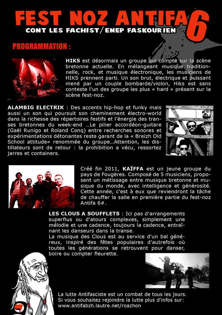 Fest-Noz Antifa #6 le 21 janvier à Rennes (antifabzh.lautre.net / 04.01.16)